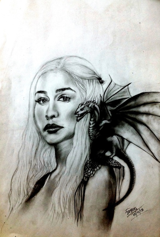 khaleesi on my mind _ Trinath Sen