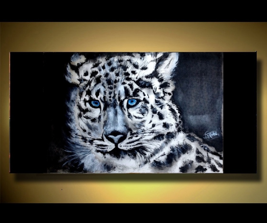oil painting by trinath Sen with illustrative wall frame