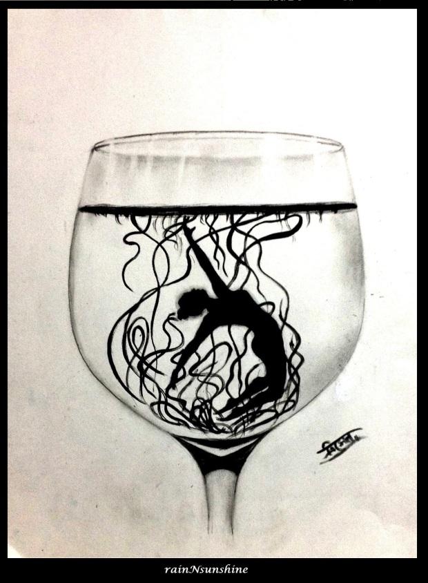 sketch by rainNsunshine  _ Sante - frame