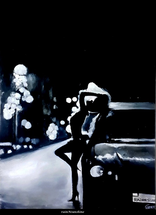 painting by rainNsunshine - frame